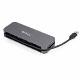 StarTech 4ポートUSB 3.0ハブ/USB-A-4x USB-A/SuperSpeed 5Gbps USB 3.1 Gen 1対応Type-Aハブ/USBバスパワー/28cmケーブル HB30AM4AB