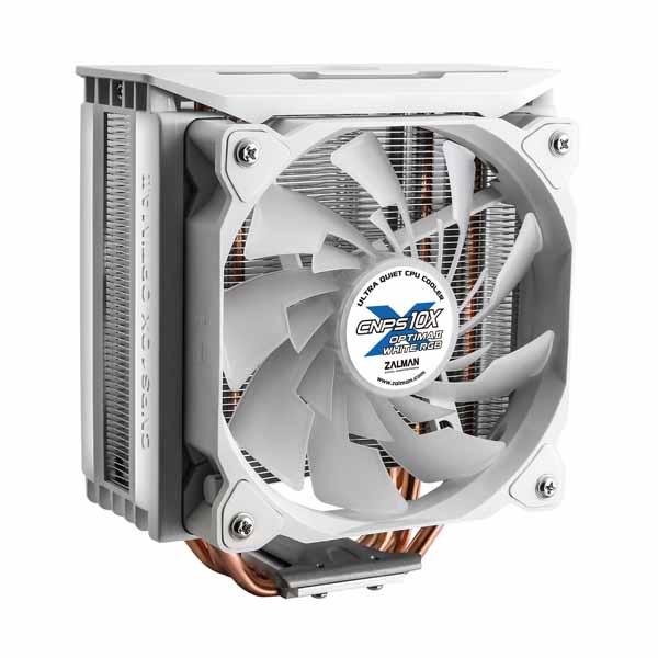 ZALMAN CNPS10X OPTIMA II WHITE RGB サイドフロー型CPUクーラー ホワイト CNPS10X OPTIMA II WHITE RGB