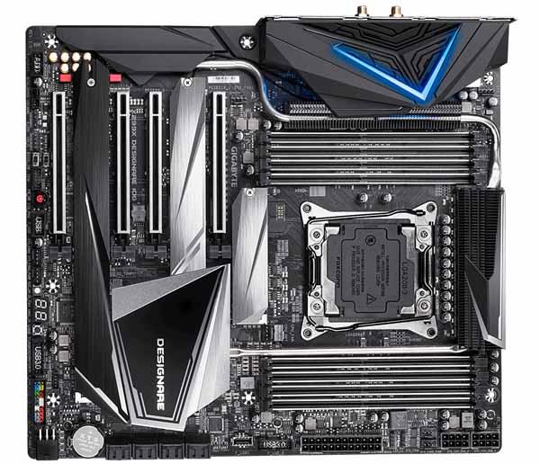 GIGABYTE X299X DESIGNARE 10G E-ATXマザーボード