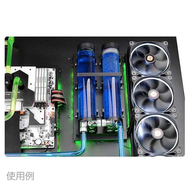 Thermaltake Pacific R22/DIY LCS/Tank/Al+PMMA/L220mm リザーバータンク|CL-W076-PL00BL-A