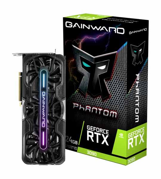 GAINWARD RTX3090 PHANTOM 24G GDDR6X 384bit 3-DP HDMI NED3090019SB-1021P-G