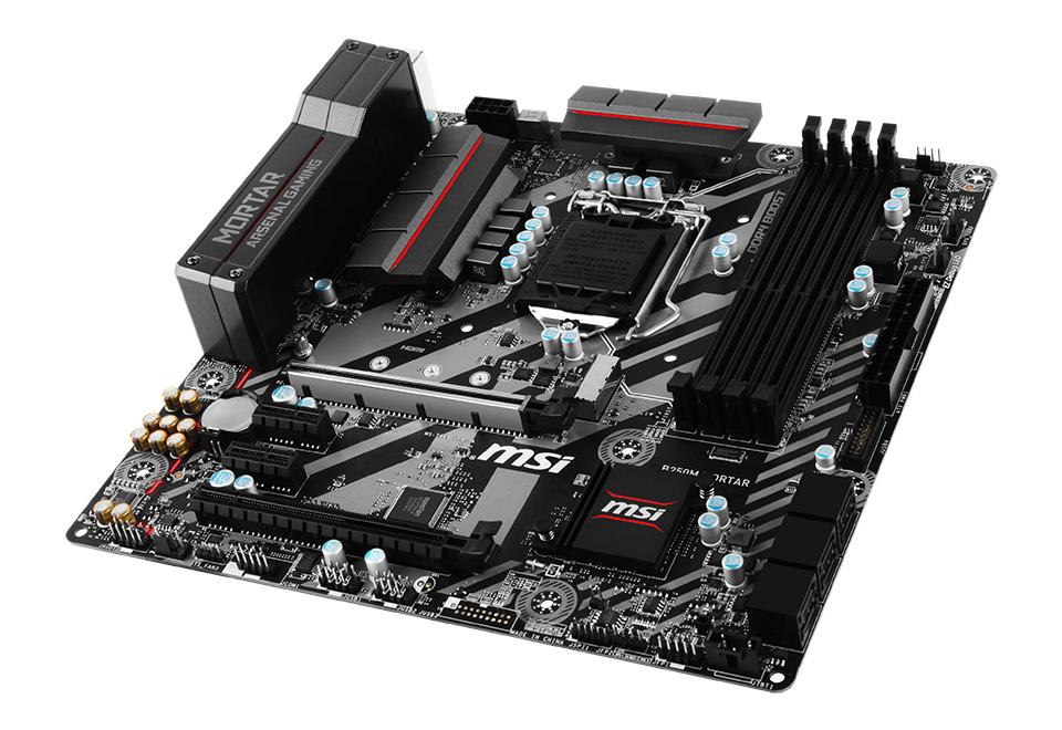 MSI B250M MORTAR ゲーミングATXマザーボード