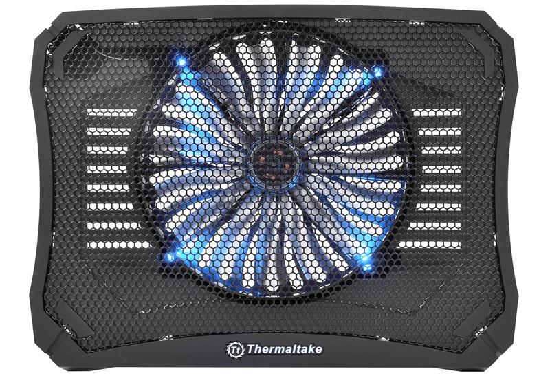 Thermaltake ブルーLEDファンを搭載 Massive V20 NB cooler/17 (CL-N004-PL20BL-A)