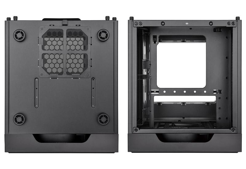 Thermaltake Suppressor F1/Black/Win/SGCC 小型キューブ型PCケース (CA-1E6-00S1WN-00)