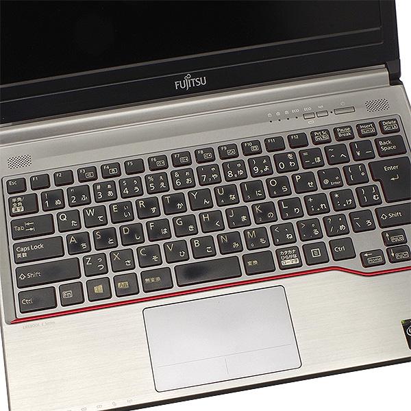 ★強力性能!8GBメモリ×SSDで動作が軽い!レッドラインもクールな富士通モバイルがお買い得!★ ノートパソコン 中古 Office付き 訳あり 8GB SSD 強力性能 Windows10 富士通 LIFEBOOK E734/H 8GBメモリ 13.3型 中古パソコン 中古ノートパソコン