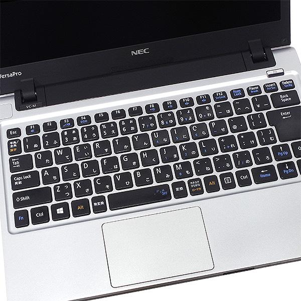 ★大容量HDD&高解像度液晶のコンパクトモバイルがお買得に!★ ノートパソコン 中古 Office付き 訳あり 500GB 高解像度 軽量 コンパクト Windows10 NEC VersaPro PC-VK27MC-H 4GBメモリ 13.3型 中古パソコン 中古ノートパソコン