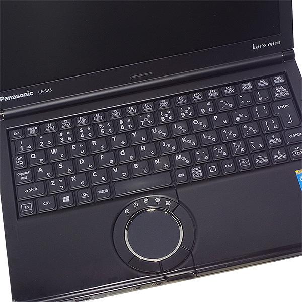 ★レアなブラックカラー!ビジネスシーンで大人気の高性能レッツノート★ ノートパソコン 中古 Office付き ブラック 黒 8GB 新品SSD 高解像度 Windows10 Panasonic Let'snote CF-SX3 8GBメモリ 12.1型 中古パソコン 中古ノートパソコン