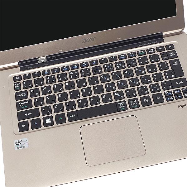 ★Webカメラ搭載!アルミデザインボディの超薄型・快適ウルトラブック★ ノートパソコン 中古 Office付き SSD ウルトラブック Webカメラ 薄型 Windows10 Acer Aspire S3-391-A54Q/P 4GBメモリ 13.3型 中古パソコン 中古ノートパソコン