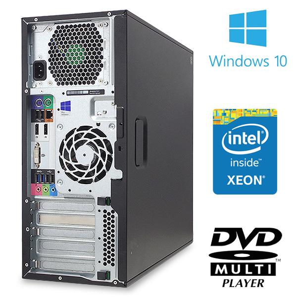 ★大容量メモリ&大容量SSDの高性能ワークステーション★ デスクトップパソコン 中古 Office付き SSD ワークステーション Windows10 HP Z230 Tower Workstation 12GBメモリ 中古パソコン 中古デスクトップパソコン