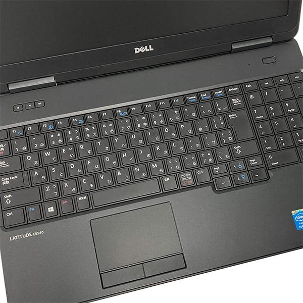 ★8GB×SSD×第4世代Corei5の爆速性能!大画面でスタイリッシュなハイスペックDELLノート★ ノートパソコン 中古 Office付き 訳あり テンキー 8GB SSD Bluetooth Windows10 DELL Latitude E5540 8GBメモリ 15.6型 中古パソコン 中古ノートパソコン