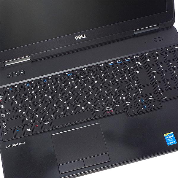 ★薄型デザインの爆速ワイドノート!DELLのテンキー付き大画面ノート★ ノートパソコン 中古 Office付き 訳あり SSD Bluetooth テンキー Windows10 DELL Latitude E5540 4GBメモリ 15.6型 中古パソコン 中古ノートパソコン