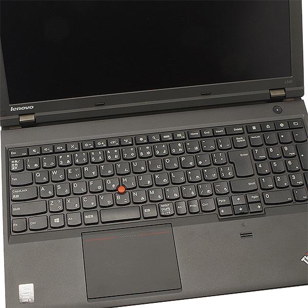 ★テンキー+大画面で仕事がはかどる!DVDも焼けるThinkPadが訳ありでお買い得★ ノートパソコン 中古 Office付き 訳あり SSD テンキー Bluetooth Windows10 Lenovo ThinkPad L540 4GBメモリ 15.6型 中古パソコン 中古ノートパソコン
