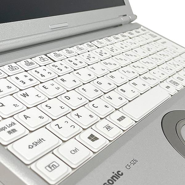 ★WUXGAの高精細液晶!第7世代Corei5×8GBメモリ×SSDで動作もボディも超軽いレッツノート★ ノートパソコン 中古 Office付き キレイ 第7世代 8GB SSD Windows10 Panasonic Let'snote CF-SZ6 8GBメモリ 12.1型 中古パソコン 中古ノートパソコン