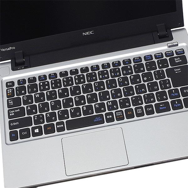 ★DVDが焼ける!大容量HDD×第4世代i5搭載したNECのコンパクトモバイル★ ノートパソコン 中古 Office付き 500GB Bluetooth 高解像度 Windows10 NEC VersaPro PC-VK27MC-M 4GBメモリ 13.3型 中古パソコン 中古ノートパソコン