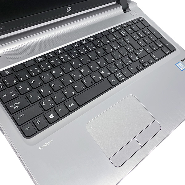 ★Webカメラ&大容量SSD搭載した薄型人気デザインノート!★ ノートパソコン 中古 Office付き 8GB SSD 512GB 第6世代 Webカメラ 薄型 テンキー Windows10 HP ProBook 450 G3 8GBメモリ 15.6型 中古パソコン 中古ノートパソコン