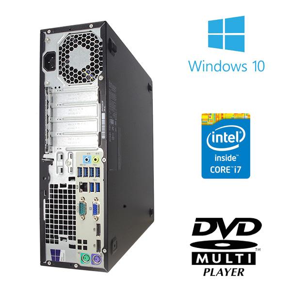 ★第6世代Corei7×16GBメモリ×大容量SSD!超ハイスペックなhp 800G2の液晶セット!★ デスクトップパソコン 中古 Office付き 第6世代 Corei7 16GB 新品SSD 512GB Windows10 HP EliteDesk 800 G2 16GBメモリ 23型 中古パソコン 中古デスクトップパソコン
