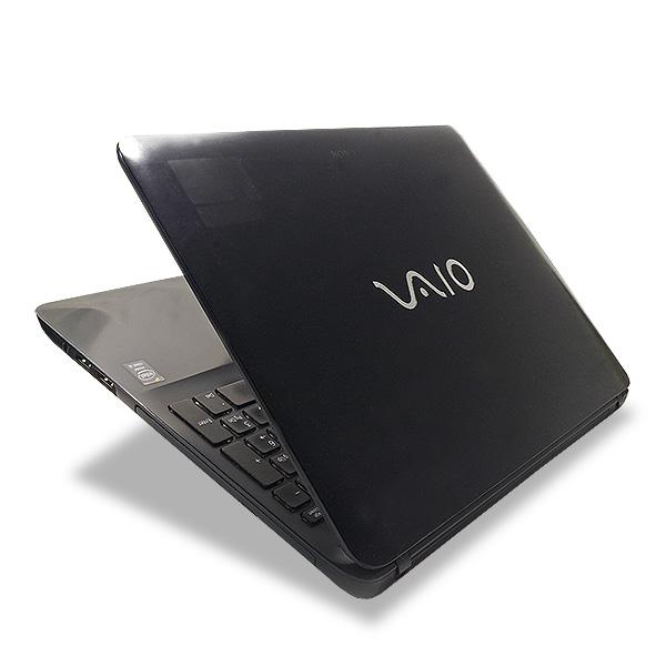 ★大人気VAIOの大画面液晶モデル!クールデザインに8GB×SSDの高性能★ ノートパソコン 中古 Office付き 8GB SSD Webカメラ Bluetooth テンキー 薄型 Windows10 SONY VAIO SVF153B18N 8GBメモリ 15.5型 中古パソコン 中古ノートパソコン