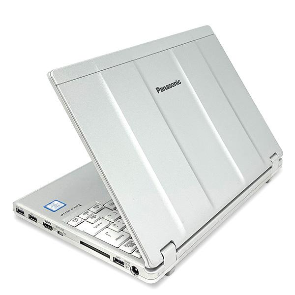 ★フルHD以上の高精細液晶にWEBカメラ付き!第7世代Corei5搭載レッツノート!★ ノートパソコン 中古 Office付き 第7世代 WEBカメラ 高解像度 WUXGA SSD Windows10 Panasonic Let'snote CF-SZ6 4GBメモリ 12.1型 中古パソコン 中古ノートパソコン