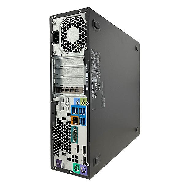 ★3DCADやトレードも余裕のopenGL4.5対応ワークステーション!hpの高性能デスクトップ★ デスクトップパソコン 中古 Office付き 32GB Quadro P1000 3DCAD 4画面 Windows10 HP Z240 SFF Workstation 16GBメモリ 中古パソコン 中古デスクトップパソコン