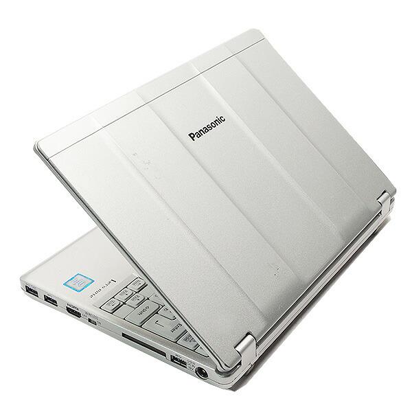 ★第7世代Corei5にSSDでバリバリ使える★ ノートパソコン 中古 Office付き 第7世代Corei5 Windows10 Panasonic Let'snote CF-SZ6 8GBメモリ 12.1型 中古パソコン 中古ノートパソコン