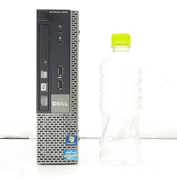 ★第3世代の高性能Corei5搭載のコンパクトPC★ デスクトップパソコン 中古 Office付き 訳あり 省スペース Windows10 DELL Optiplex 9010USFF 4GBメモリ 20型 中古パソコン 中古デスクトップパソコン