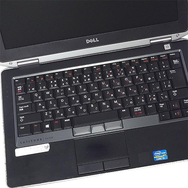 ★DVDが焼ける!SSD搭載しサクサク快適なDellモバイルがお買得!★ ノートパソコン 中古 Office付き 訳あり SSD Windows10 DELL Latitude E6330 4GBメモリ 13.3型 中古パソコン 中古ノートパソコン