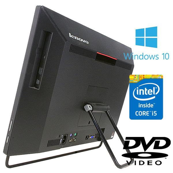 ★WEBカメラ付きの大人気のデザイン◎な一体型!8GBメモリの爆速性能!★ デスクトップパソコン 中古 Office付き 訳あり WEBカメラ 8GB SSD Bluetooth 一体型 Windows10 Lenovo ThinkCentre M73z AIO 8GBメモリ 20型 中古パソコン 中古デスクトップパソコン