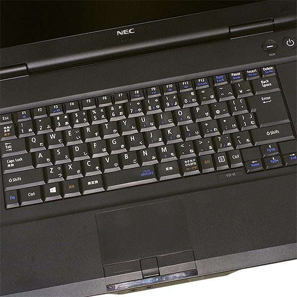 ★フルHD液晶搭載!大容量HDDも嬉しい、サクサク快適なNEC大画面ノート★ ノートパソコン 中古 Office付き 500GB フルHD Windows10 NEC VersaPro PC-VK24LD-H 4GBメモリ 15.6型 中古パソコン 中古ノートパソコン