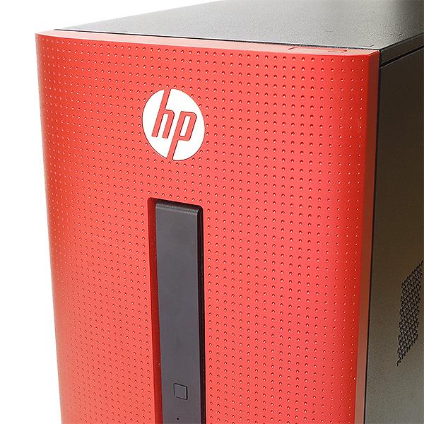 ★サンセットレッドカラーのデザイン性も性能もバツグンのhpデスクトップPC★ デスクトップパソコン 中古 Office付き サンセットレッド カラー 赤 8GB SSD 第6世代 Windows10 DELL Pavilion Desktop 550-240JP 8GBメモリ 中古パソコン 中古デスクトップパソコン