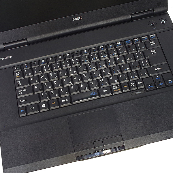 ★第4世代Corei5搭載した快適NEC大画面ノートがお買得に!★ ノートパソコン 中古 Office付き 訳あり Windows10 NEC VersaPro PC-VK26TX-M 4GBメモリ 15.6型 中古パソコン 中古ノートパソコン