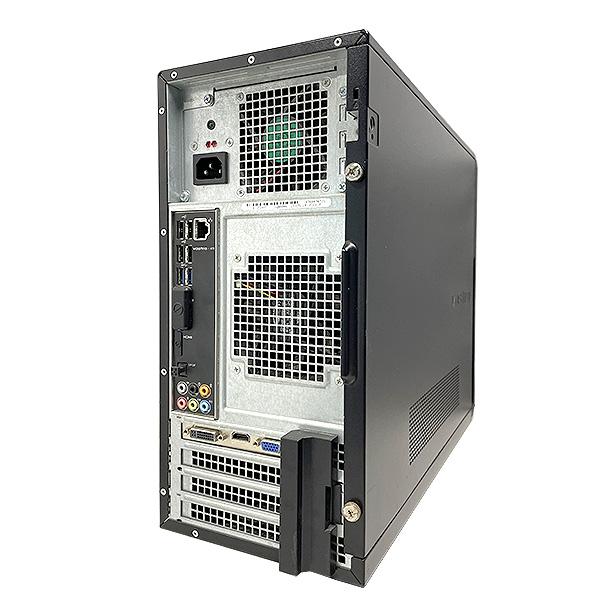 ★今本気でゲームやるならこのグラボ!強力GTX1050tiを搭載の第3世代i7デスクトップ★ デスクトップパソコン 中古 Office付き ゲーミングPC GT620 SSD Windows10 DELL Vostro 470 8GBメモリ 中古パソコン 中古デスクトップパソコン