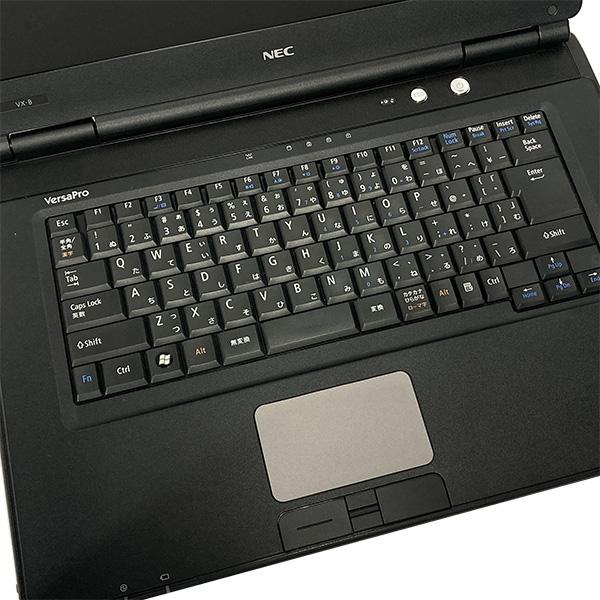 ★新品SSD×Corei5搭載した快適大画面ノートがお手ごろ価格!★ ノートパソコン 中古 Office付き 新品SSD Windows10 NEC VersaPro PC-VK26MX-B 4GBメモリ 15.6型 中古パソコン 中古ノートパソコン