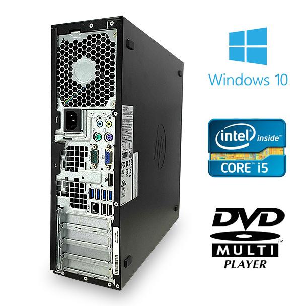 ★8GBメモリ×Corei5搭載した高性能デスクトップPCがこの価格!★ デスクトップパソコン 中古 Office付き 訳あり SSD 8GB Windows10 HP Compaq 6300 SFF 8GBメモリ 中古パソコン 中古デスクトップパソコン