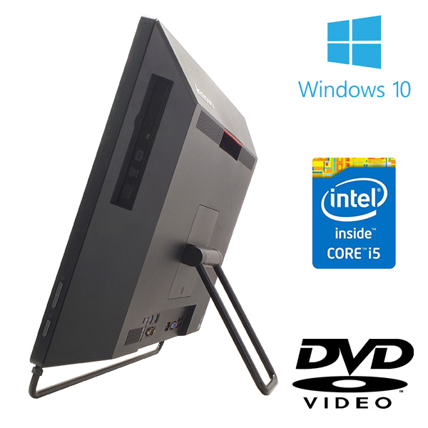 ★WEBカメラ付きの大人気のデザイン◎な一体型!高性能で超快適★ デスクトップパソコン 中古 Office付き 訳あり WEBカメラ SSD 8GB 第4世代 Windows10 Lenovo ThinkCentre M73z AIO 8GBメモリ 20型 中古パソコン 中古デスクトップパソコン