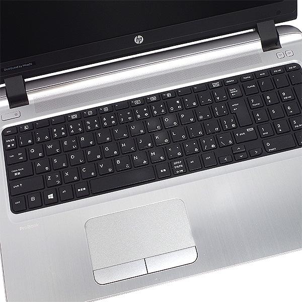 ★Webカメラ付きの人気薄型デザインノート!第6世代Corei3×8GBメモリで快適!★ ノートパソコン 中古 Office付き 8GB SSD 第6世代 Webカメラ 薄型 テンキー Windows10 HP ProBook 450 G3 8GBメモリ 15.6型 中古パソコン 中古ノートパソコン