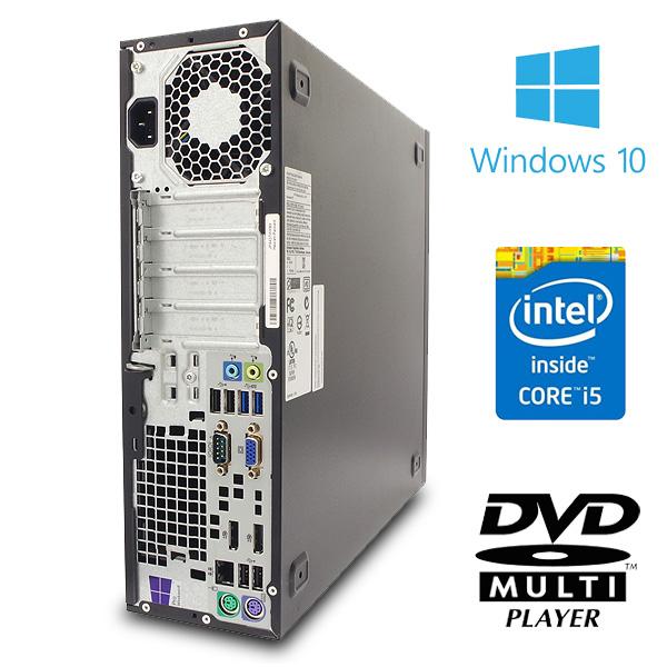 ★hp統一を確約!高性能マシンとフルHDを超える高解像度の液晶セット!★ デスクトップパソコン 中古 Office付き 8GB SSD 液晶セット メーカー統一 フルHD以上 Windows10 HP EliteDesk 800 G1 SFF 8GBメモリ 24型 中古パソコン 中古デスクトップパソコン