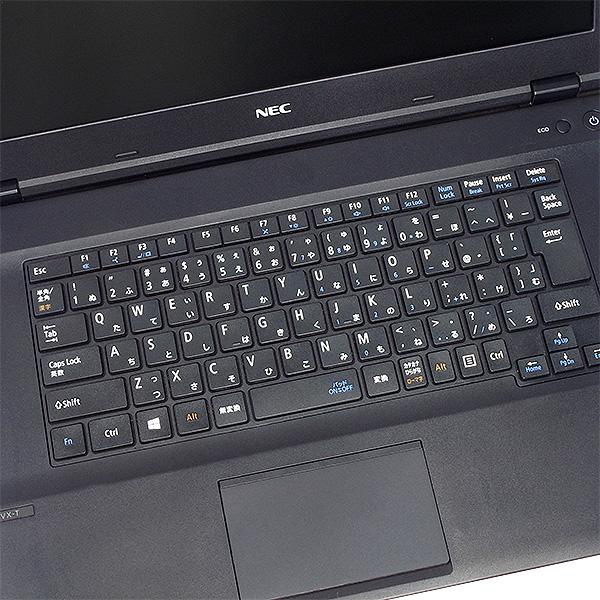 ★Webカメラ内蔵!まだ新しい第6世代Corei5×8GBメモリの爆速性能NECワイドノート★ ノートパソコン 中古 Office付き Webカメラ 8GB SSD 第6世代 Bluetooth Windows10 NEC VersaPro PC-VK24MX-T 8GBメモリ 15.6型 中古パソコン 中古ノートパソコン