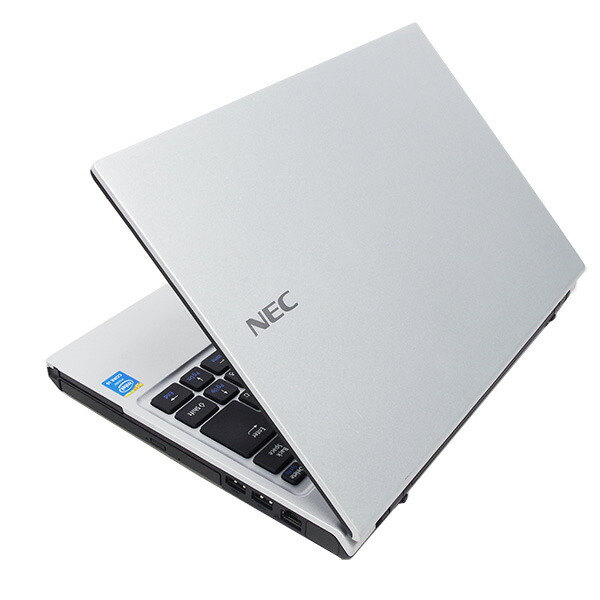 ★NECの快適・サクサク軽量コンパクトモバイルがお買得!★ ノートパソコン 中古 Office付き 新品SSD 軽量 高解像度 Windows10 NEC VersaPro VK27MC-J 4GBメモリ 13.3型 中古パソコン 中古ノートパソコン
