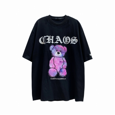《3色》CHAOSファンタジーモコモコクマTシャツ
