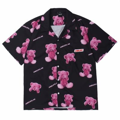 ブラインドクマ半袖シャツ