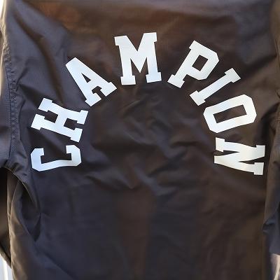 【リユース品】Championグレーナイロンジャケット