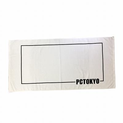 PCTOKYOオリジナルバスタオル