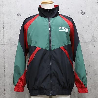 《2色》ドロップショルダーRE'FUSIONナイロンジャケット