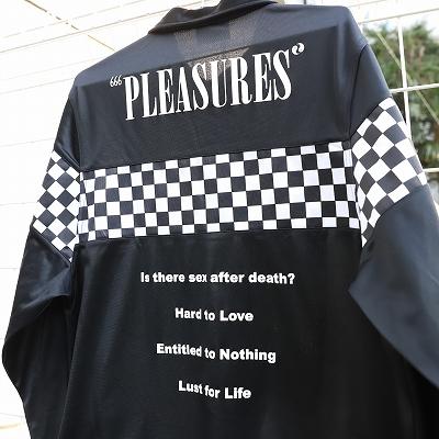 【リユース品】PLEASURESフラッグチェックジャケット