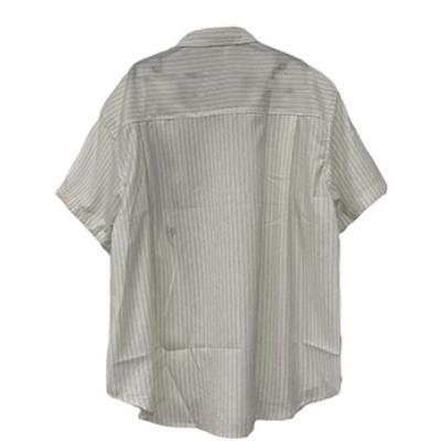 ビッグハートストライプ半袖シャツ