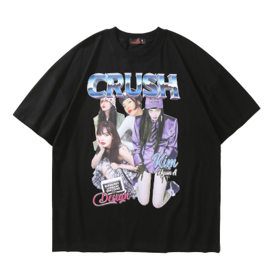 CRUSHガールTシャツ