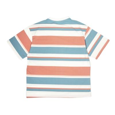 《2色》オーバーサイズマルチボーダーTシャツ
