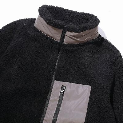 《2色》シープボアジップジャケット