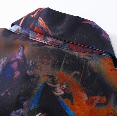 セイクリッドフレスコ長袖シャツ