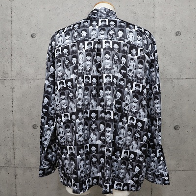 FINKフェイスサテンシャツ